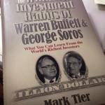 Winning investment habits of Warren Buffett & George Soros